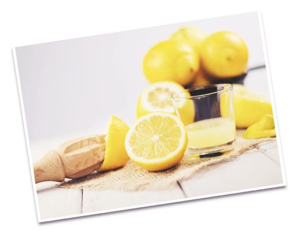 Zitronen Frischsaft