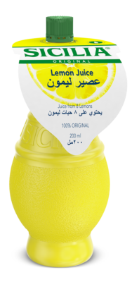 282 Sicilia 200Ml Zitronensaft Kuwait
